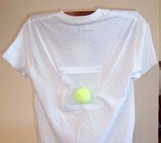 Tennis Ball T-Shirt Pouch